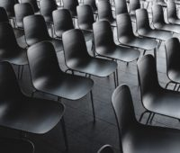 Empty Chairs at A Tradeshow